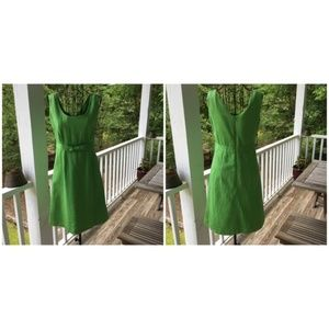 RARE Lilly Pulitzer Green Shift Dress with Bow